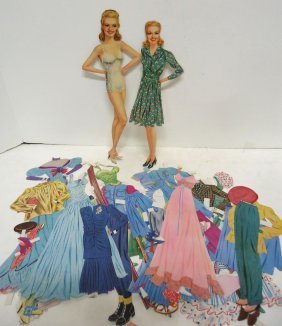 Betty Grable Paper Doll & Accessories
