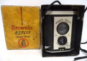 Brownie Reflex Camera In Orig. Box