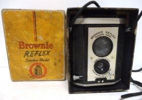 Brownie Reflex Camera In Orig. Box