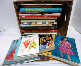 Lot Of Doll Reference Books & Price Guides