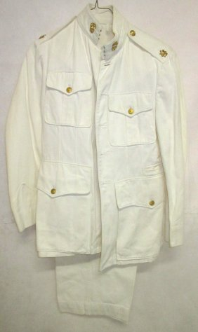 Usmc Officers Dress White Uniform