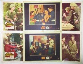 (6) 1950's Movie Lobby Cards