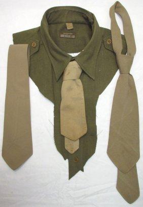Lot Of Wwii Neckties