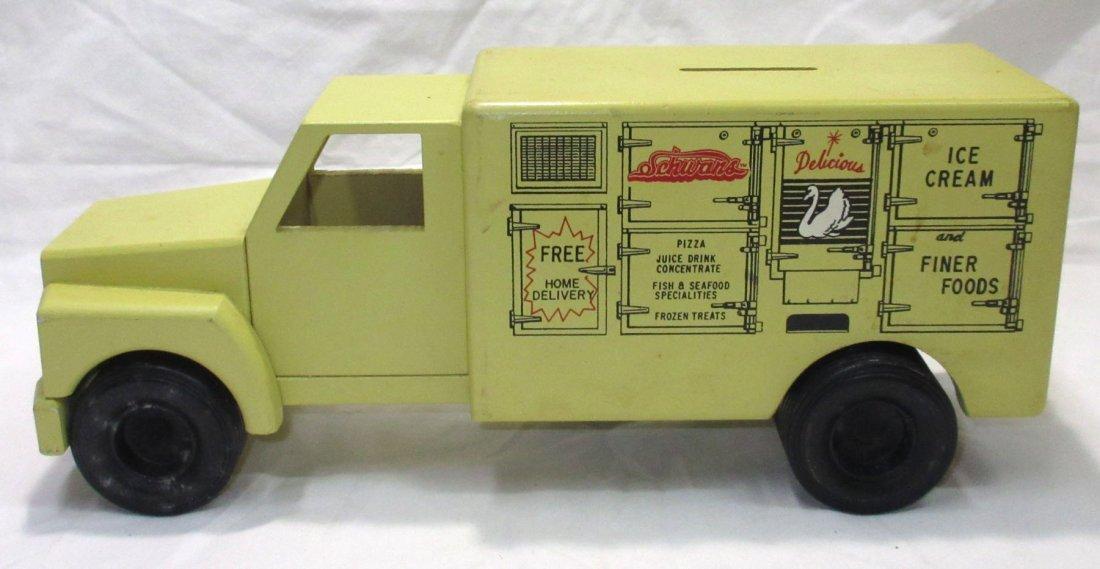 Schwan's Toy Truck Bank
