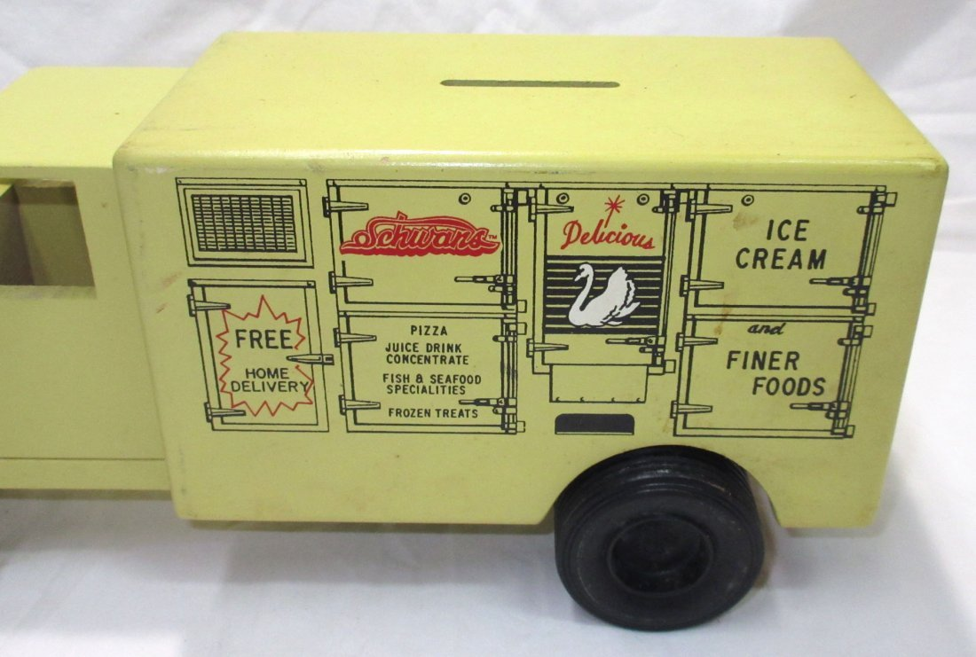 Schwan's Toy Truck Bank - 2