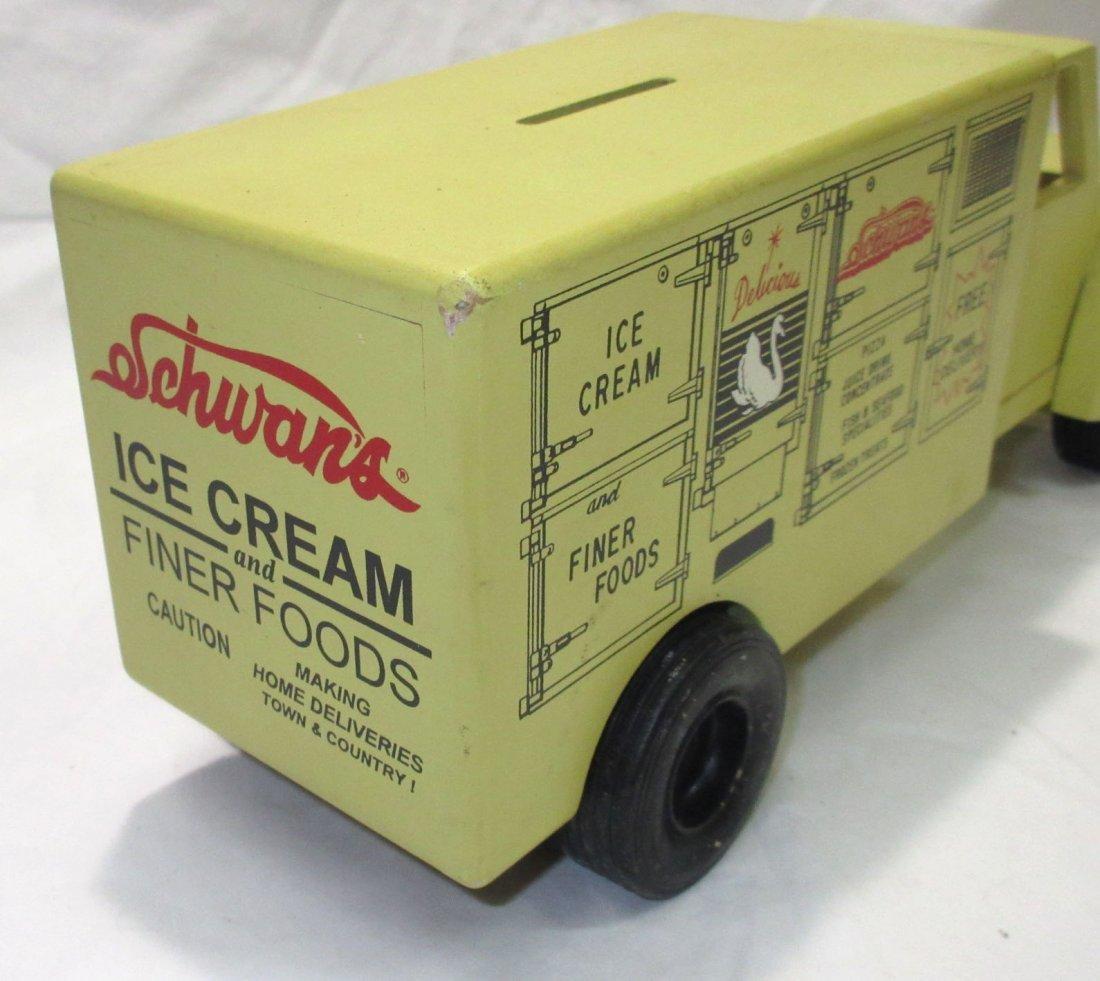 Schwan's Toy Truck Bank - 4