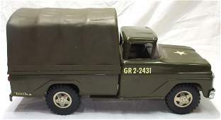 Tonka Toy Troop Carrier Truck Orig. Box
