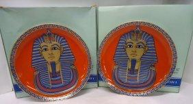 2 Kaiser Porcelain Comm. Plates
