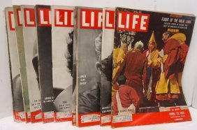 12 Life Magazines 1950-51