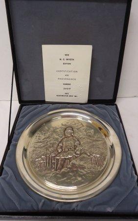 Washington Mint Sterling Plate 10.6 Oz