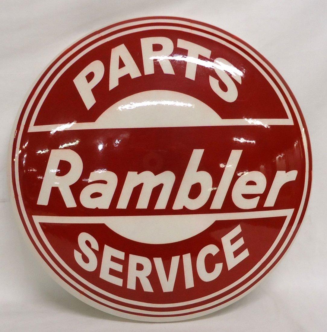 Modern Rambler Advertising Sign