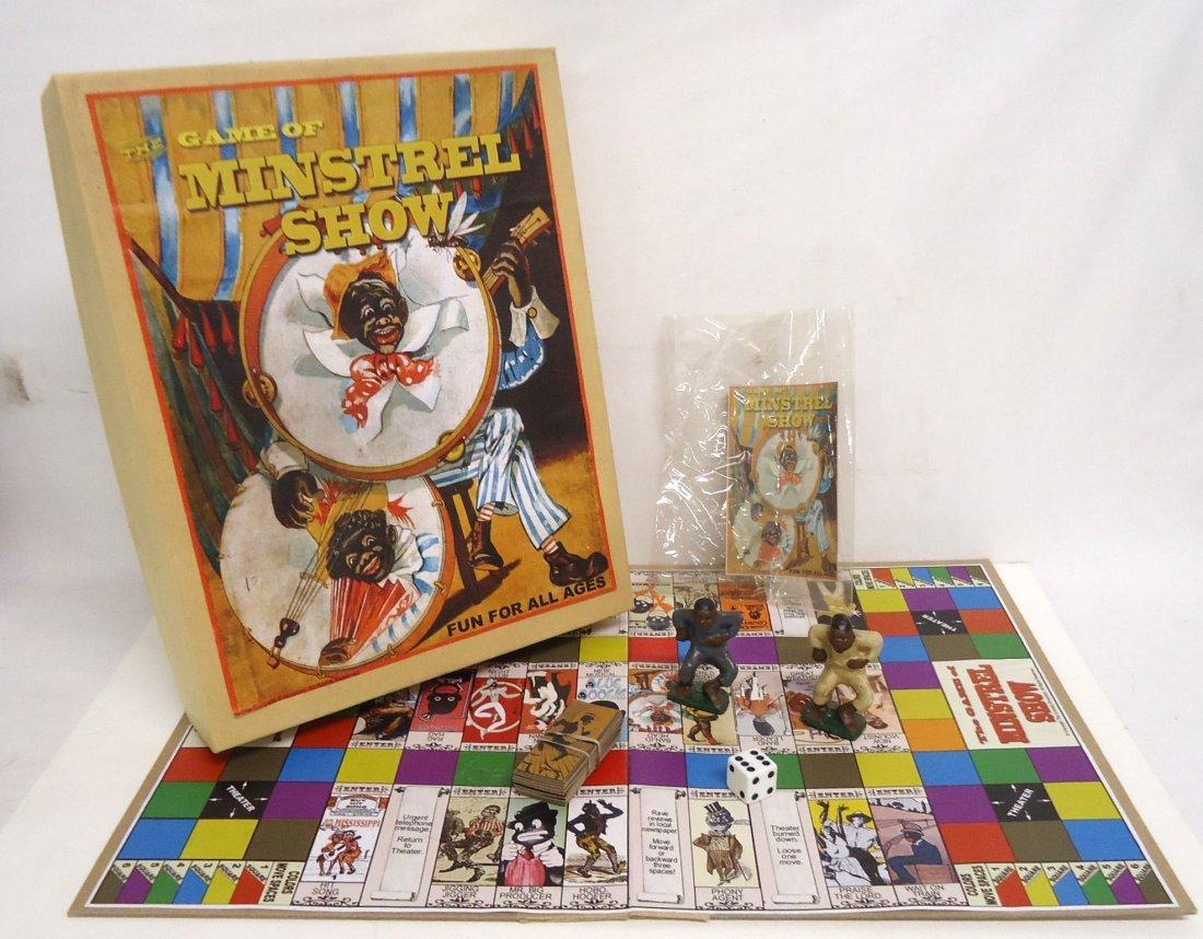 Modern Minstrel Show Game