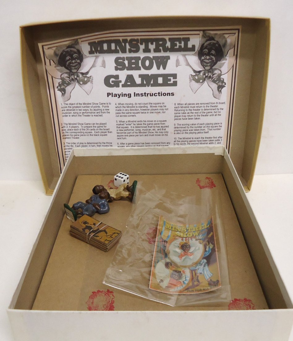 Modern Minstrel Show Game - 3