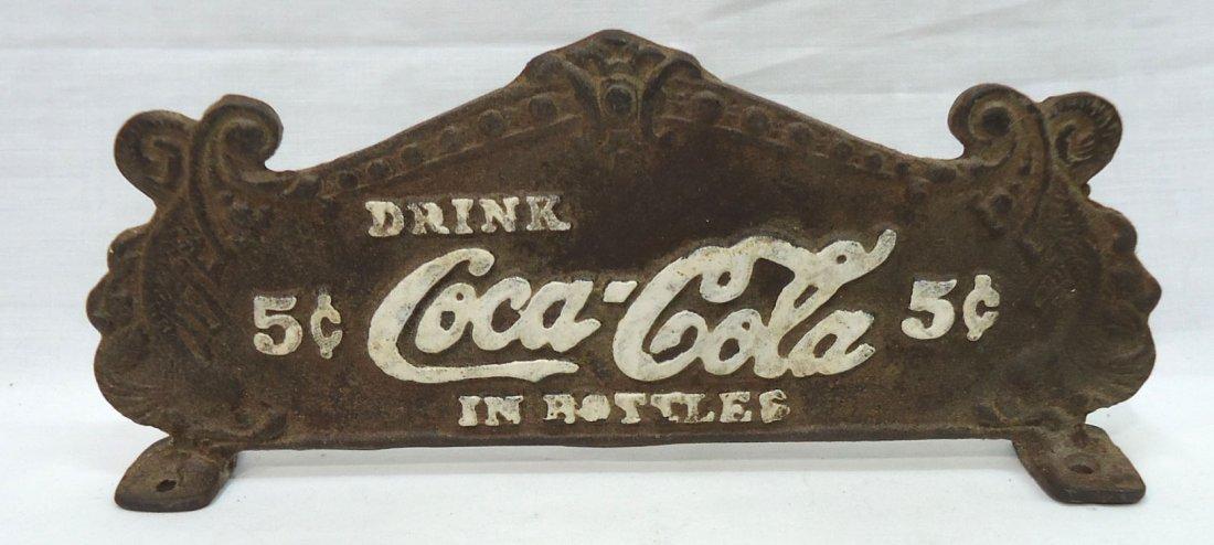 Modern C.I. Coca Cola Cash Register Topper
