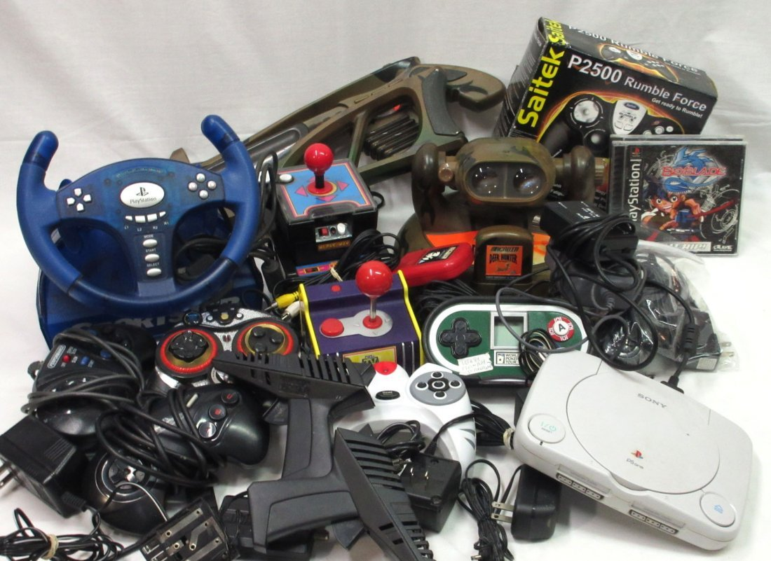 Lot of Vtg. Video Games, Etc