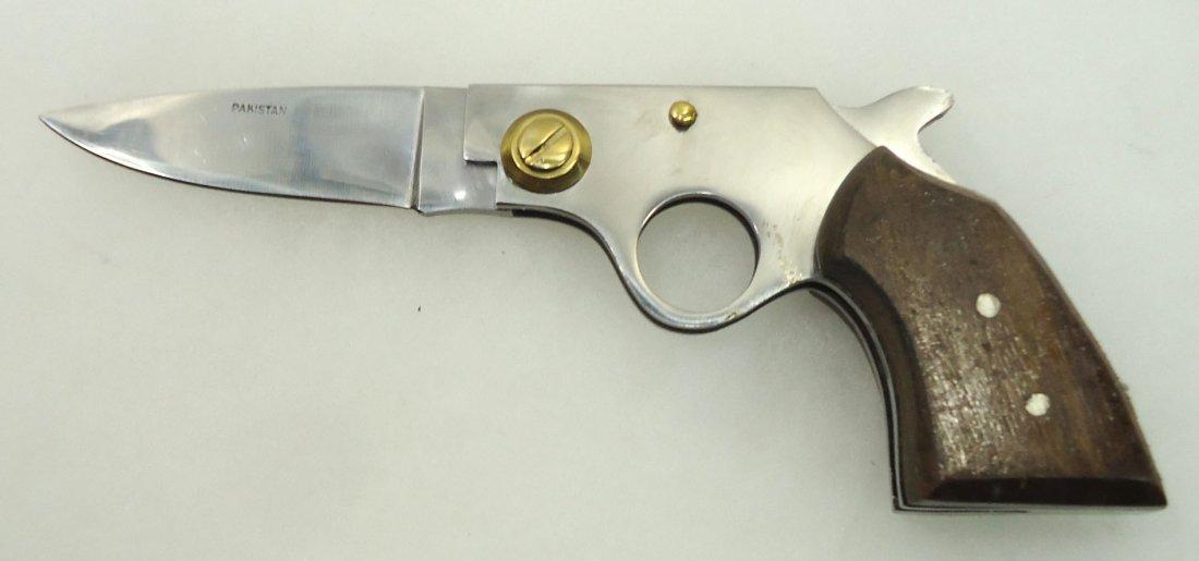 """5"""" Folding Gun Knife"""