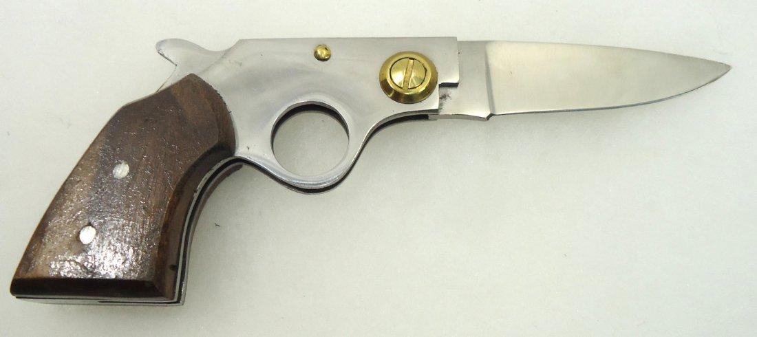 """5"""" Folding Gun Knife - 2"""