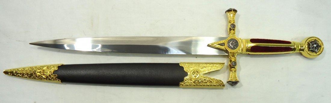 "20"" Masonic Dagger"
