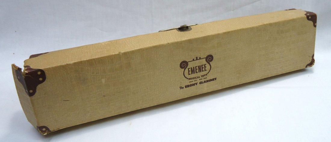 Emenee Ebony Clarinet Orig. Box - 5