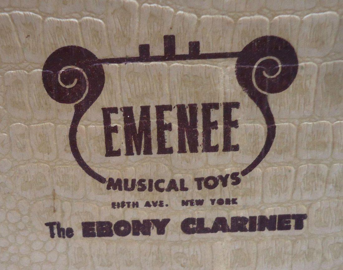 Emenee Ebony Clarinet Orig. Box - 6