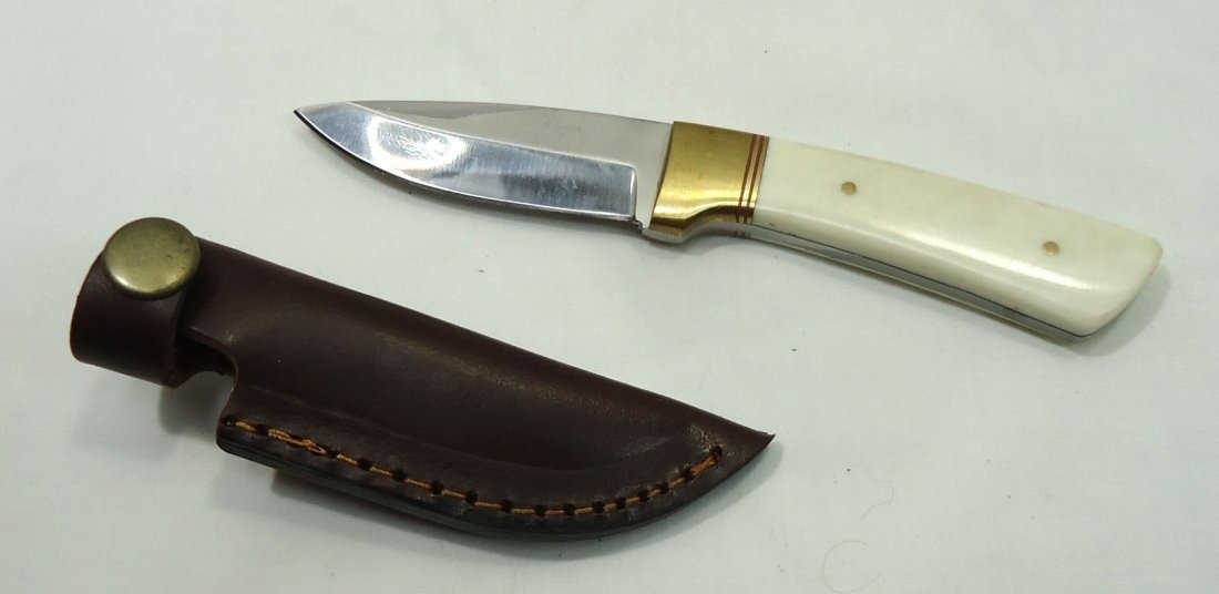 Bone Handle Skinner Knife