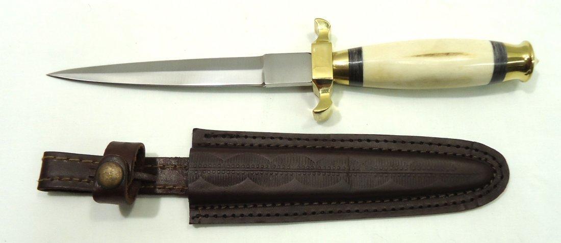 Bone Handle Commando Knife