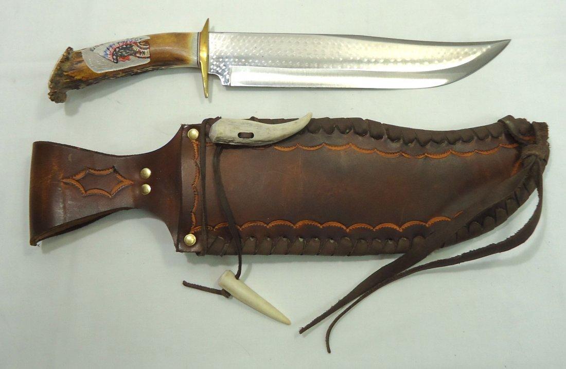 Ken Richardson Hand Made Bowie Knife