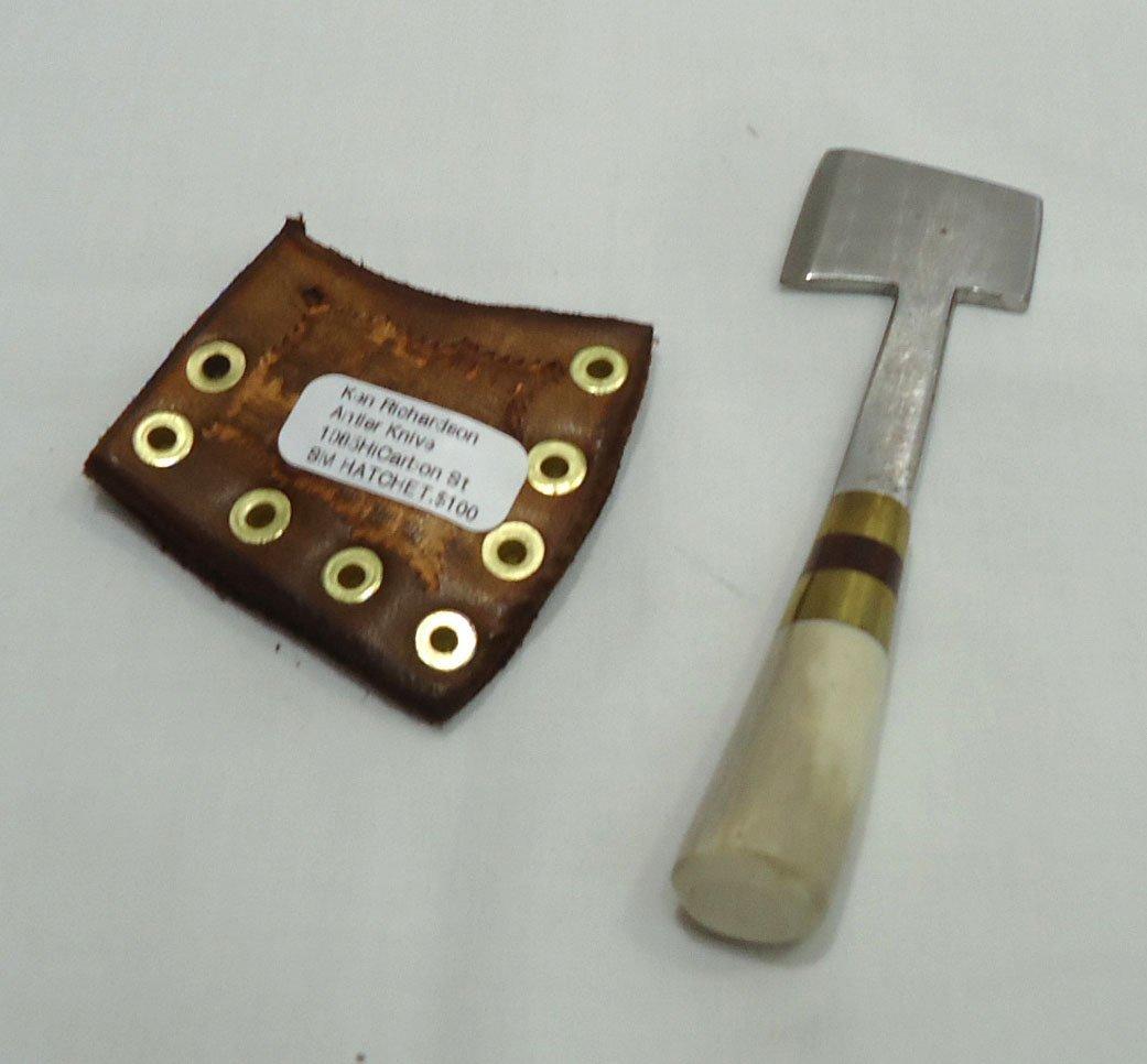 Ken Richardson Hand Made Miniature Hatchet - 2