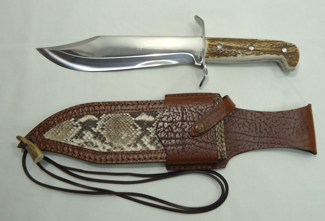 Hen & Rooster Bowie Knife