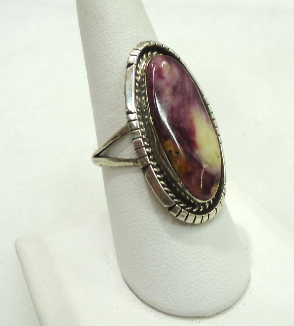 Navajo Spiny Sterling Ring