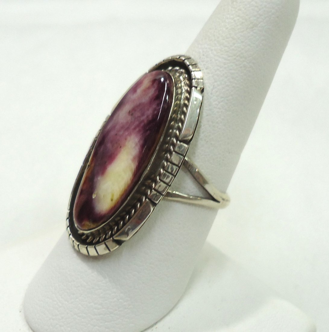 Navajo Spiny Sterling Ring - 2