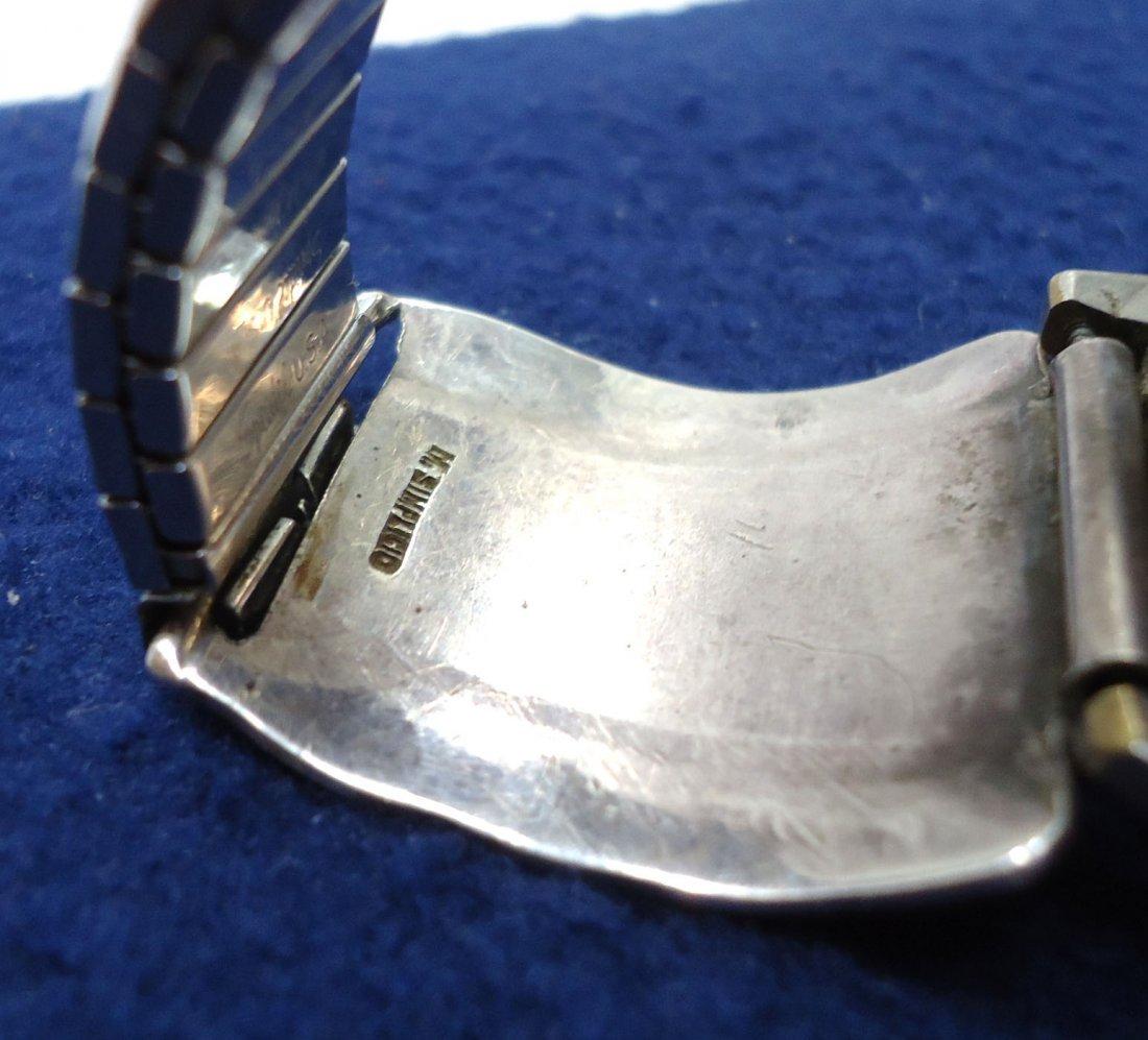 Peugeot Chronograph Navajo Sterling Turq. Band - 5