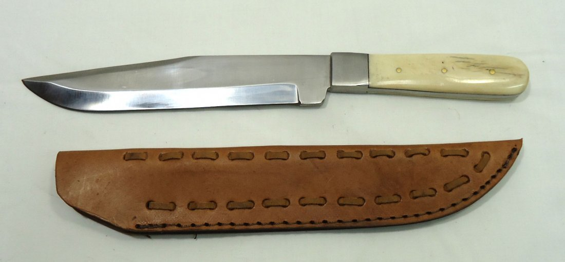 Bone Handle Bowie Knife