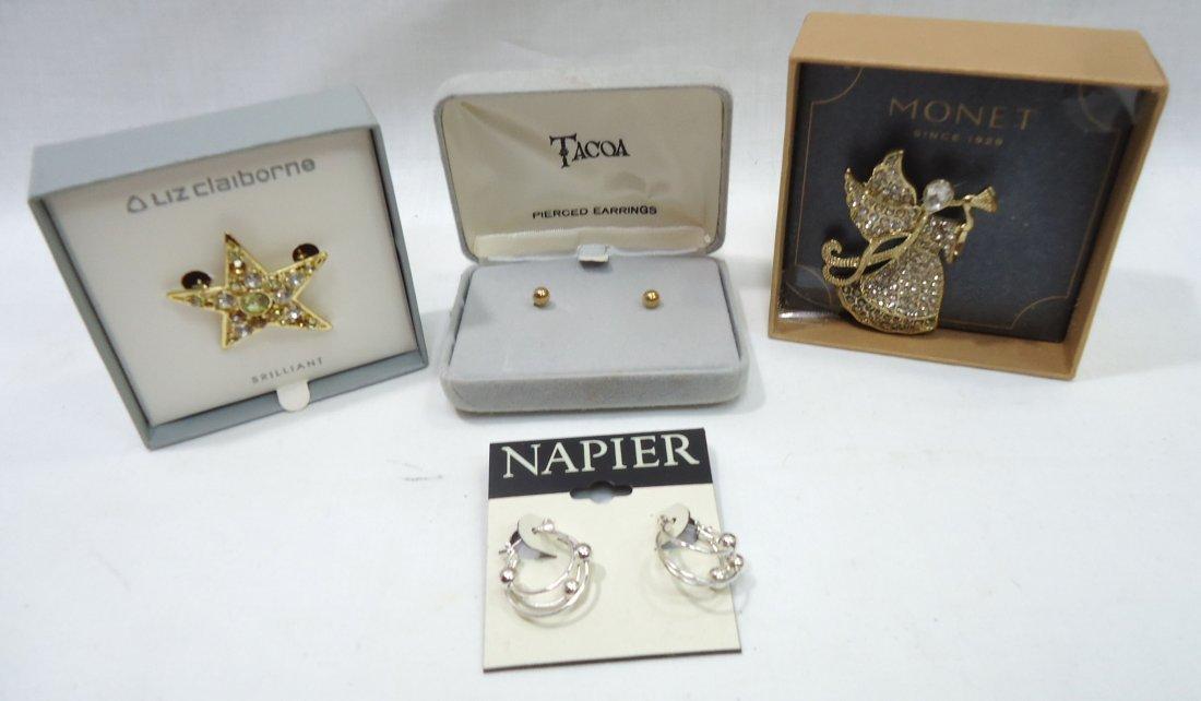 7pc Costume Jewelry Orig. Boxes - 3