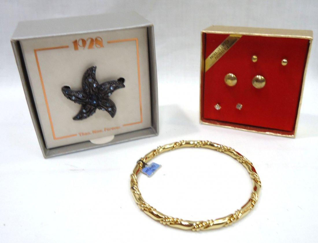 7pc Costume Jewelry Orig. Boxes - 4