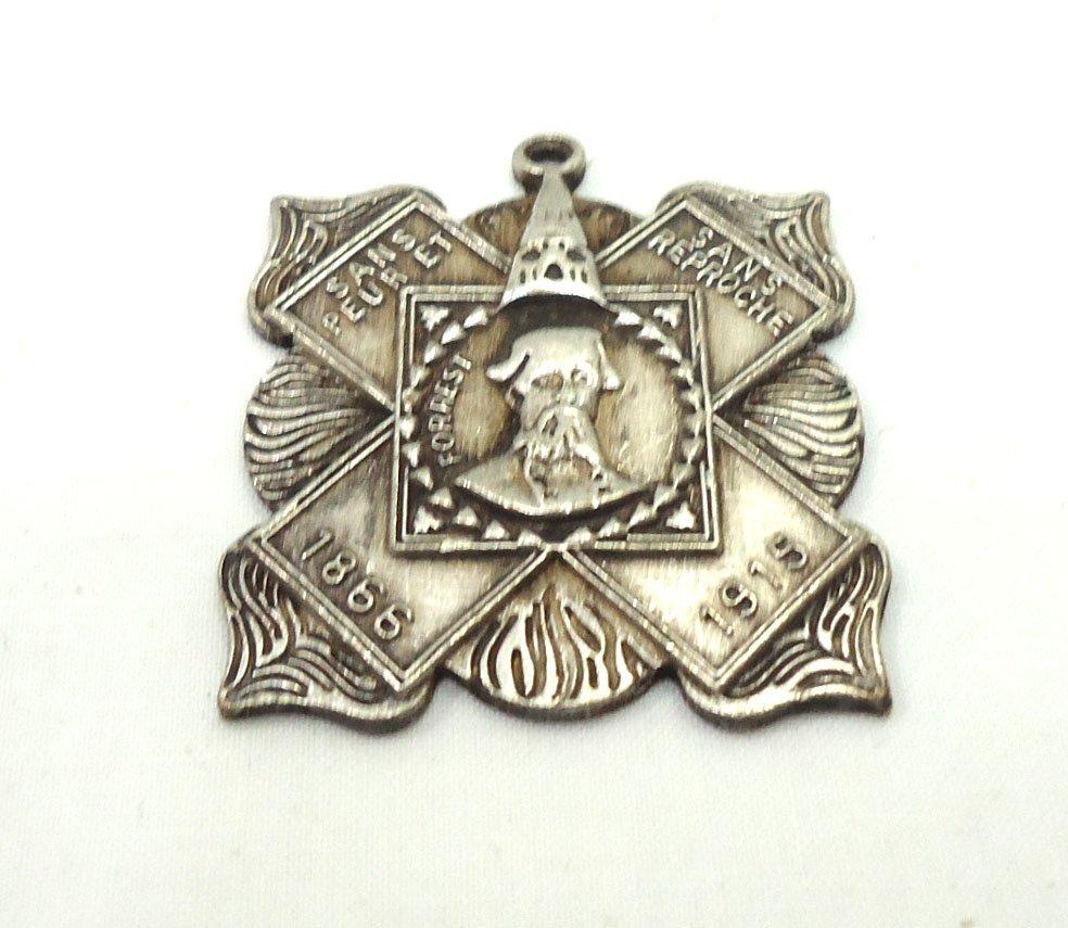 Modern KKK Metal Pendant