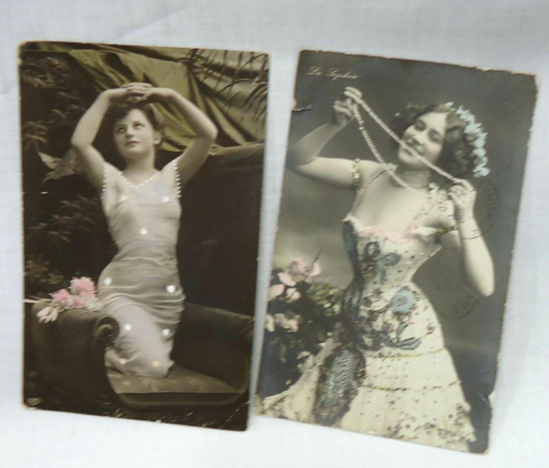 (8) 1908 Post Cards w/ Women - 2