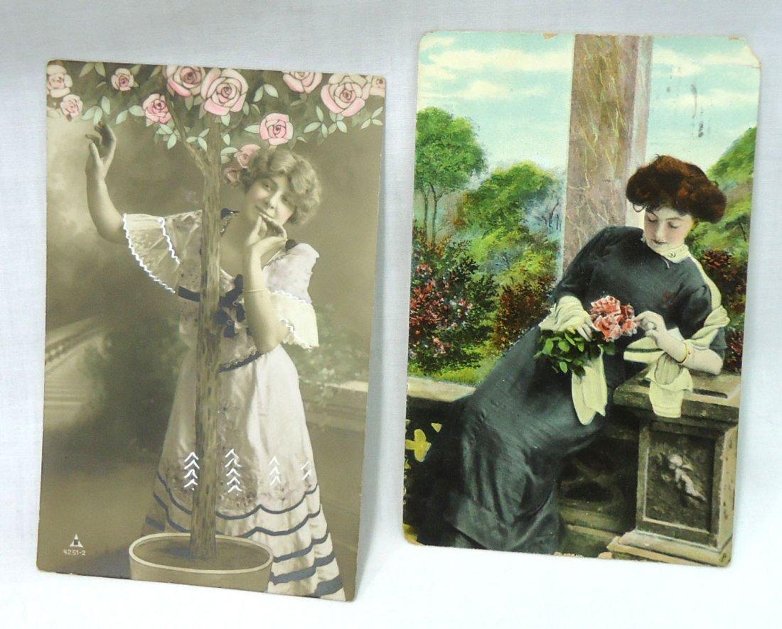 (8) 1908 Post Cards w/ Women - 3