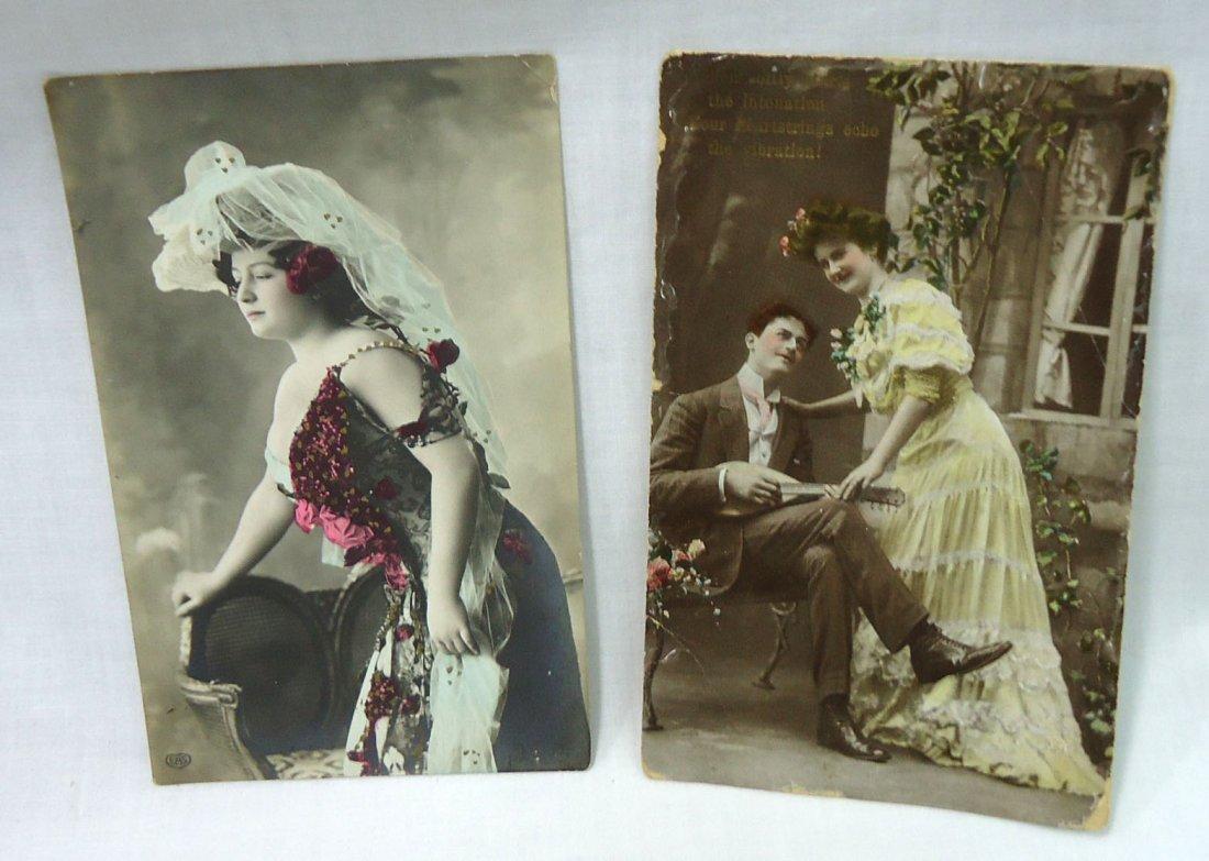 (8) 1908 Post Cards w/ Women - 4