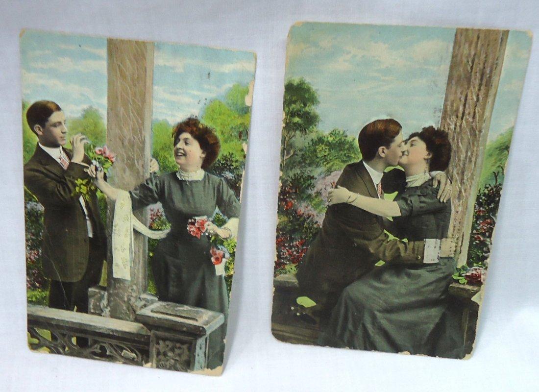 (8) 1908 Post Cards w/ Women - 5