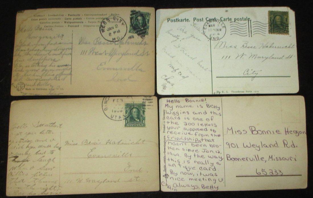 (8) 1908 Post Cards w/ Women - 6