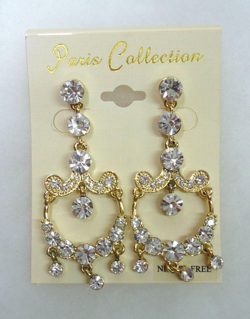 Pr. Rhinestone Earrings
