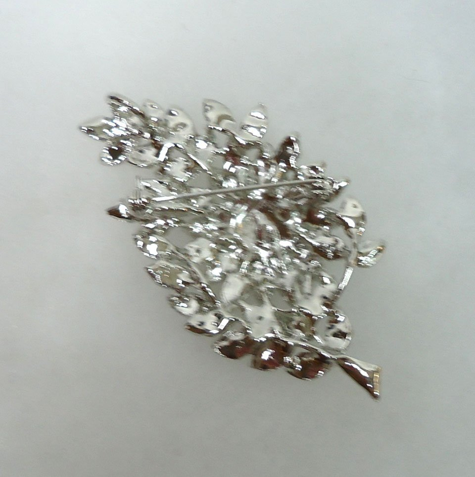2- Costume Rhinestone Brooches - 5