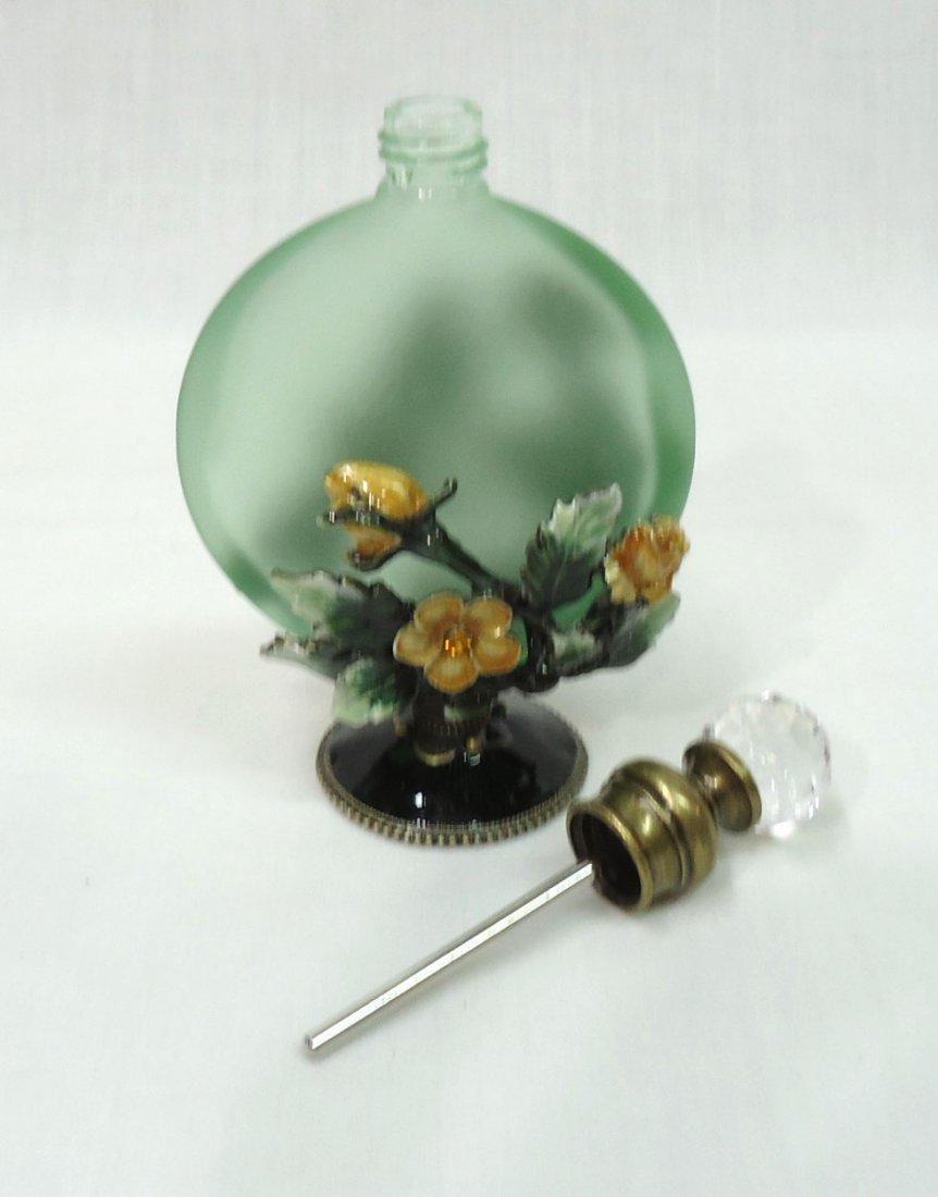 Enameled Dragonfly Perfume Bottle - 3