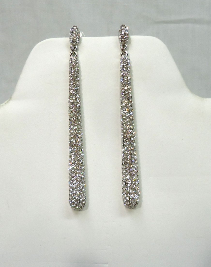 Pr, Costume Rhinestone Earrings
