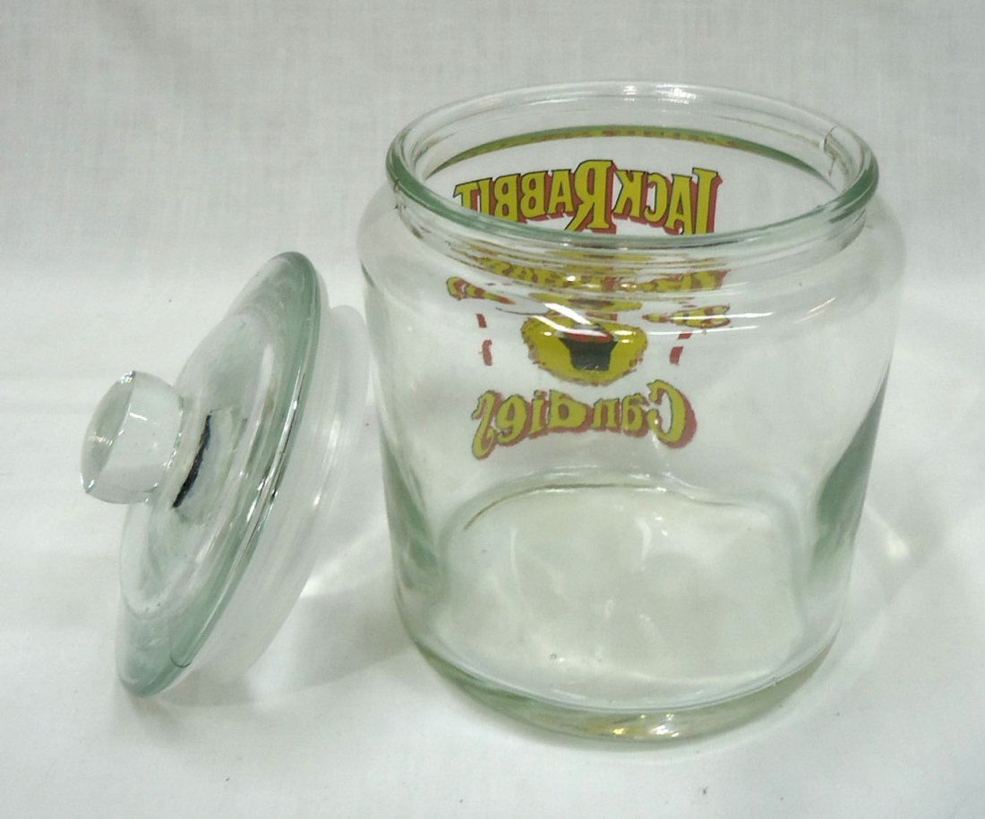 Modern Jack Rabbit Candy Store Jar - 2