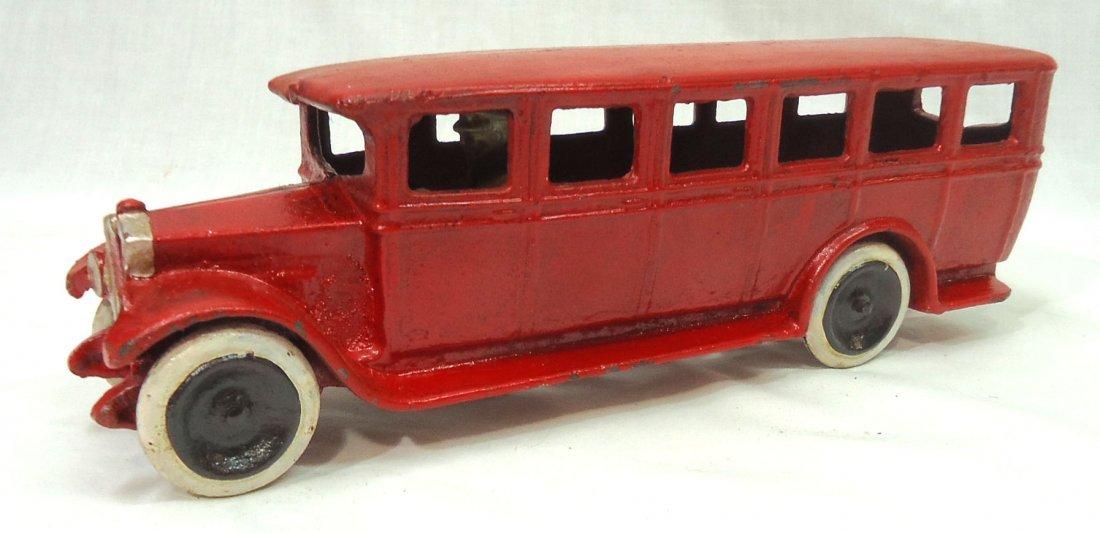 Modern Cast Iron Toy Bus