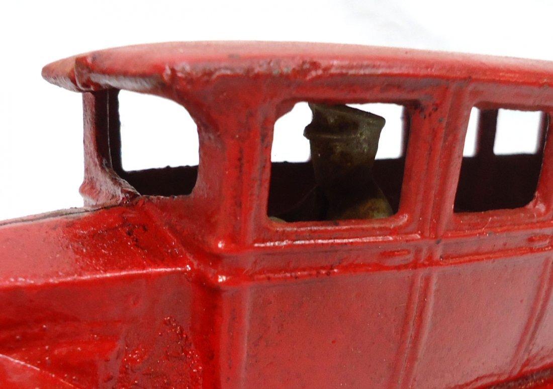 Modern Cast Iron Toy Bus - 2