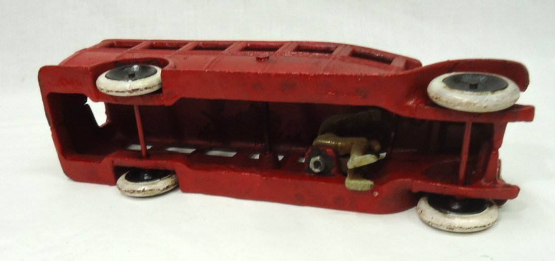 Modern Cast Iron Toy Bus - 4