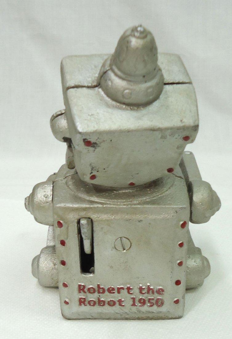 Modern Cast Iron Robert Robot Mech. Bank - 4